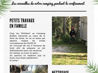 Newsletter de votre Camping