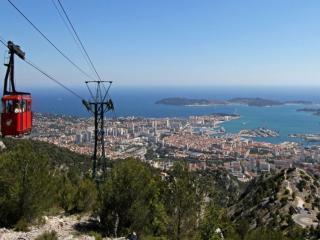 Téléphérique du Mont Faron à Toulon