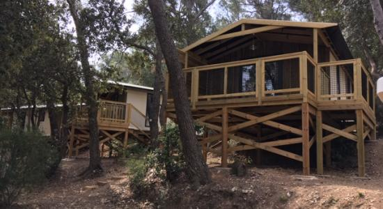 Location d'un Lodge en PACA
